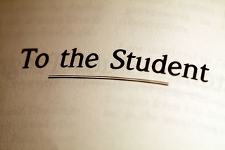 Students To the Student Sign