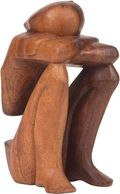Grief Wood Sculpture