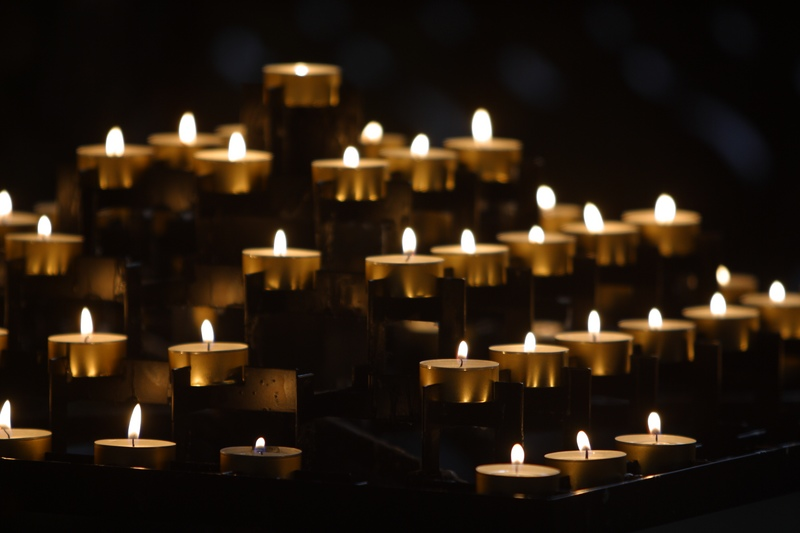 Spirituality Candles Layers of Votives