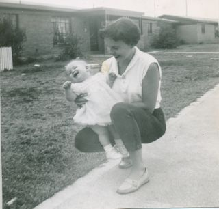 Mary Roush with Daughter, Kris