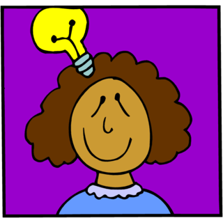 Idea Lightbulb Color Illus