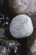 Spirituality Blessings Rock